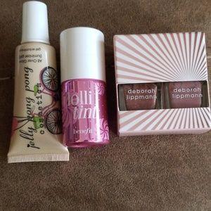 Illuminzer gel, lip and cheek tint, polish set